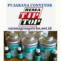 Jual REMA TIP TOP PLASTIC CEMENT ADHESIVE SC 2000  PT SARANA CONVEYORS 1 2