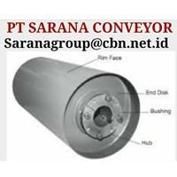 GRAFITY ROLLER CONVEYOR PT SARANA CONVEYOR DRUM PULLEYS