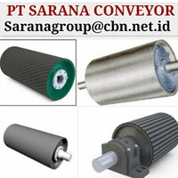 DRUM PULLEY RUBBER PT SARANA CONVEYORS