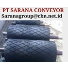 DRUM PULLEY RUBBER HEAVY DUTY PT SARANA CONVEYORS PULLEY 2