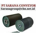 DRUM PULLEY RUBBER HEAVY DUTY PT SARANA CONVEYORS PULLEY 1