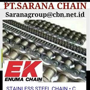 EK ROLLER CHAIN  PT SARANA CHAIN STANDARD ANSI CHAIN RS 60 RS80