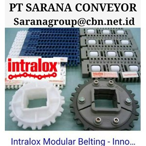 INTRALOX MODULAR BELT PT SARANA CONVEYOR PLASTIC BELT