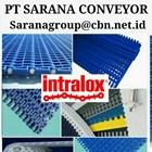 INTRALOX MAPTOP BELT PT SARANA CONVEYOR PLASTIC 2