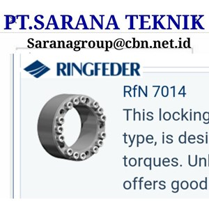 RINGFEDER LOCKING ASSEMBLY RFN 7012 PT SARANA CONVEYOR RFN7013