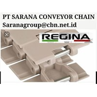 REGINA TABLETOP CHAIN PT SARANA CONVEYOR BELTS