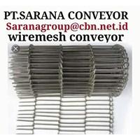 Jual STAINLESS STEEL WIREMESH CONVEYOR GALVANIS PT SARANA TEKNIK CONVEYOR 2