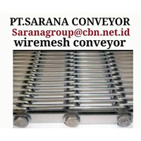 STAINLESS STEEL WIREMESH CONVEYOR GALVANIS PT SARANA TEKNIK CONVEYOR 1