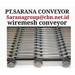 STAINLESS STEEL WIREMESH CONVEYOR GALVANIS PT SARANA TEKNIK CONVEYOR