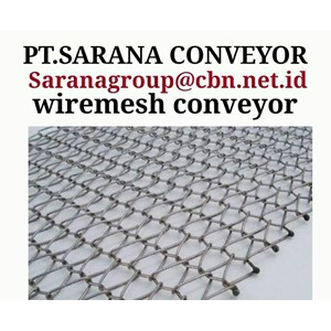 GALVANIS WIREMESH CONVEYOR PT SARANA TEKNIK CONVEYOR