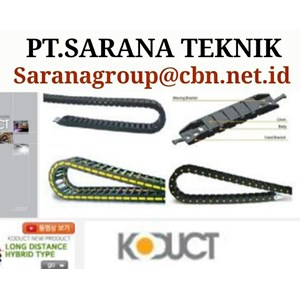 CABLE CHAIN KODUCT CABLE CHAIN PLASTIC CONVEYOR TECHNIQUE OF PT SARANA