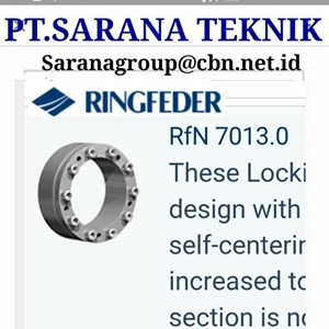 PT SARANA TECHNIQUE RINGFEDER RFN LOCKING DEVICE POWER LOCK