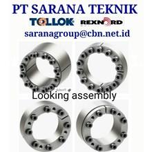 TOLLOK LOCKING DEVICE ASSEMBLIES REXNORD PT SARANA TEKNIK POWER LOCK