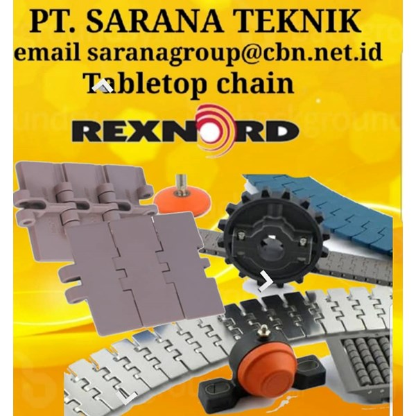 PT SARANA TEKNIK JUAL Chain Conveyor REXNORD TABLETOP CHAIN