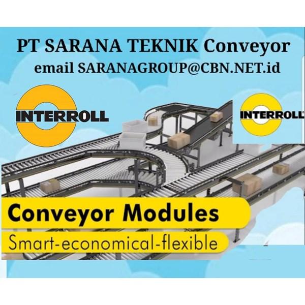 Roller Conveyor INTERROLL PT SARANA TEKNIK MOTOR ROLLER MOTORIZED