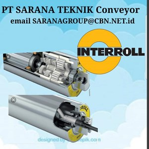 PT SARANA TEKNIK Roller Conveyor INTERROLL DRUM MOTOR