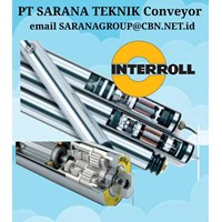 Drum Roller PT SARANA TEKNIK INTERROLL roller drum  CONVEYOR MOTORIZED