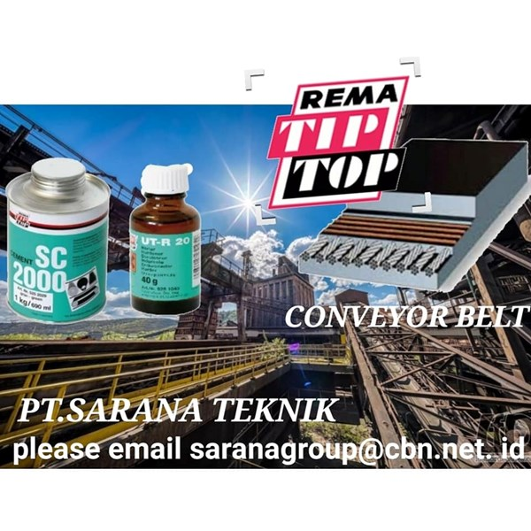REMA TIP TOP ADHESIVE SC 2000 PT SARANA TEKNIK FOR CONVEYOR BELT