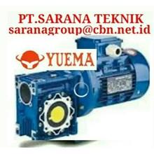 PT SARANA GEAR MOTOR YUEMA NMRV GEARBOX