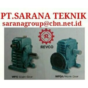 REVCO GEAR WPA WPX WPO GEAR REDUCUCER GEARBOX