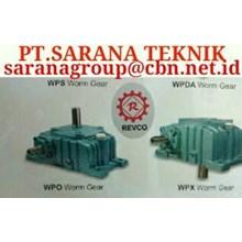 PT SARANA GEAR MOTOR REVCO GEAR WPA WPX WPO GEAR REDUCER GEARBOX