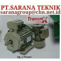 PT SARANA GEAR MOTOR TRANSMAX ELECTRIC MOTOR