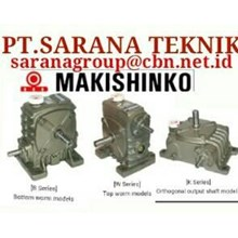 PT SARANA GEAR MOTOR MAKISHINKO worm gear reducer GEARBOX