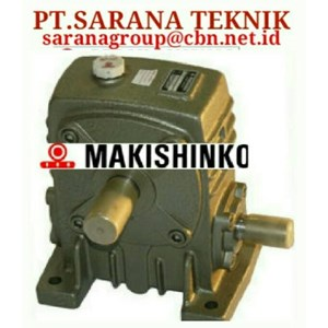 Dari PT SARANA GEAR MOTOR MAKISHINKO gearBOX reducer 0
