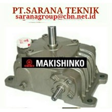 PT SARANA GEAR REDUCER MAKISHINKO gearBOX gear motor