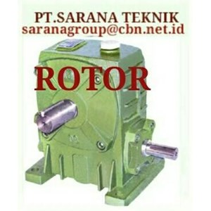 PT SARANA GEAR MOTOR ROTOR GEAR REDUCER GEARBOX WPA