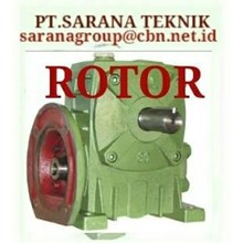 ROTOR GEAR REDUCER GEARBOX WPA WPO WPX