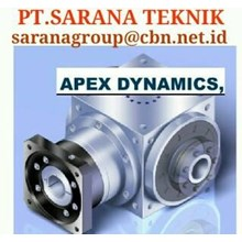 PT SARANA GEAR MOTOR APEX DYNAMICS GEARBOX GEAR HEAD