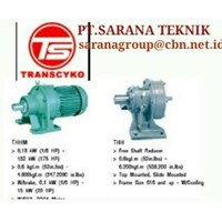 PT SARANA GEAR MOTOR TRANSCYKO GEAR CYCLOIDAL SPEED REDUCER