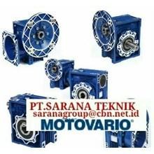 PT SARANA GEAR MOTOR MOTOVARIO GEARBOX NMRV MOTOR