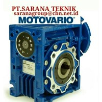 PT SARANA GEAR MOTOR MOTOVARIO GEARBOX WORM  MOTOR