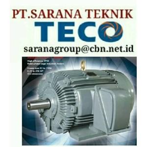 TECO ELECTRIC MOTOR PT SARANA TEKNIK SELL ELECTRIC TECO MOTOR TYPE AEEB 50 HZ B3 B5 FOOT MOUNTED .