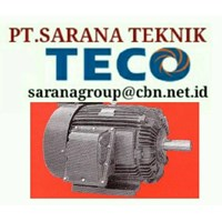 EDDY CURRENT TECO ELECTRIC MOTOR PT SARANA TEKNIK SELL ELECTRIC TECO MOTOR TYPE AEEB 50 HZ B3 B5 FOOT MOUNTED & FLANGE AC MOTOR AND DC MOTOR