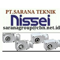 NISSEI GEAR MOTOR GTR PT SARANA GEARBOX NISSEI GEAR MOTOR GTR INDONESIA 1