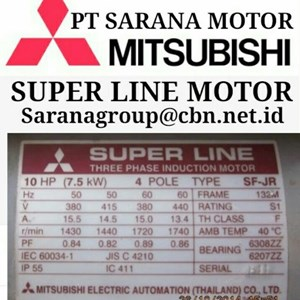 MITSUBISHI SUPERLINE ELECTRIC MOTOR PT SARANA MOTOR AC