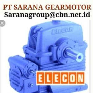 ELECON GEAR MOTOR PT SARANA  REDUCER PT SARANA GEARBOX ELECON