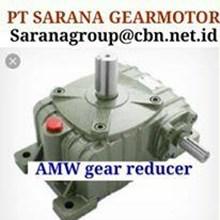 AMW GEAR MOTOR REDUCER PT SARANA GEAR MOTOR WPA WPX WPO