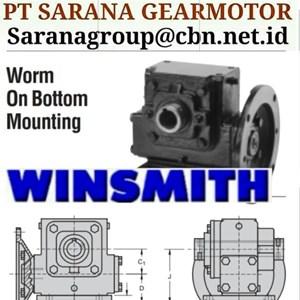 PT SARANA WINSMITH GEAR REDUCER GEARBOX PT SARANA GEAR MOTOR