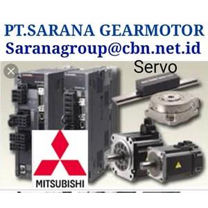 MITSUBISHI SERVO AC MOTOR PT SARANA GEAR AC MOTOR PLC INVERTER