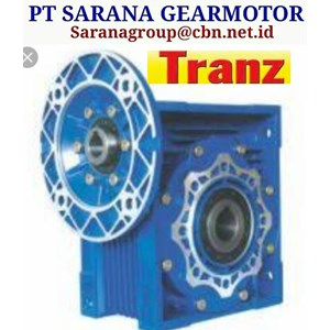 TRANZ WORM GEAR MOTOR NMRV PT SARANA GEARMOTOR