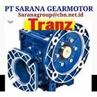 NMRV PT SARANA GEAR MOTOR TRANZ WORM GEAR MOTOR NMRV 2