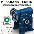 PLANETARY GEARBOX STM WORM GEAR DRIVE PT SARANA GEAR MOTOR 1