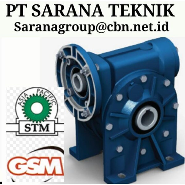 PLANETARY GEARBOX STM WORM GEAR DRIVE PT SARANA GEAR MOTOR