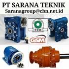 GEAR MOTOR STM WORM GEARBOX DRIVE PLANETARY PT SARANA TEKNIK 2