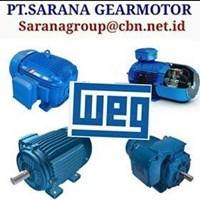 WEG ELECTRIC AC MOTOR PT SARANA GEAR MOTOR  FRAME IEC 1
