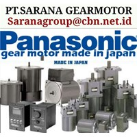 PANASONIC COMPAC AC GEARED MOTOR PT SARANA GEAR MOTOR 1